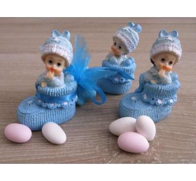 """Marturii, Bomboniere Chisinau, Marturie botez """"Bebe In Botosel Bleo"""""""